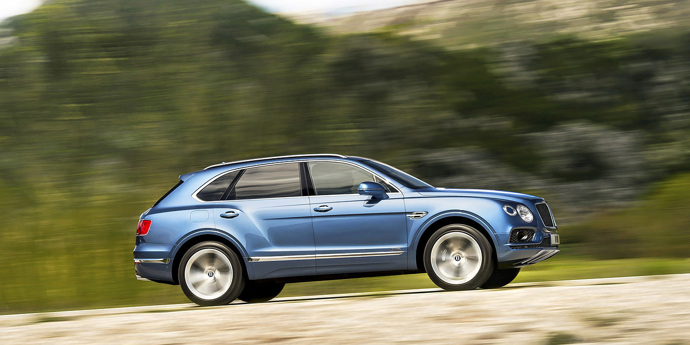 Bentley Bentayga Diesel, Montenegro  Photo: James Lipman / jameslipman.com